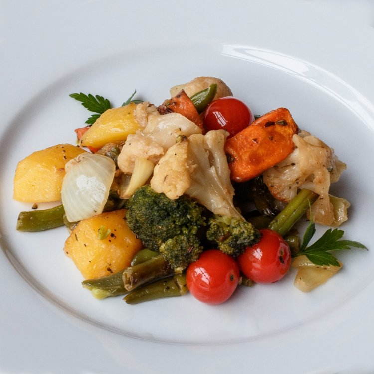 еда овощи тушеные